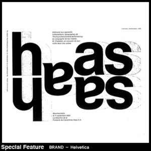 SPECIAL FEATUREBRAND/ Helvetica - Global Modernist